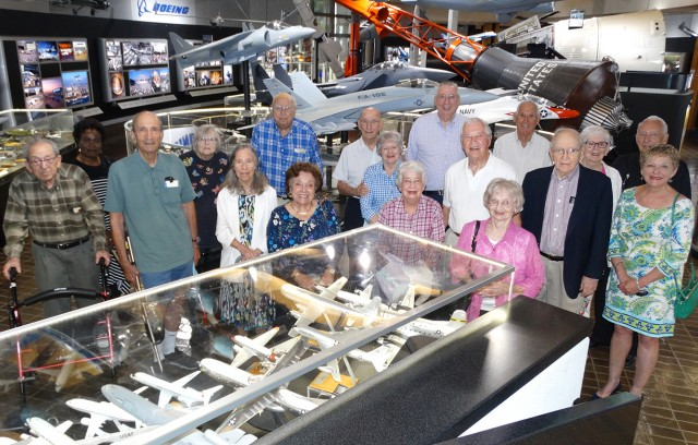 Gatesworth residents at Boeing's Prologue Room